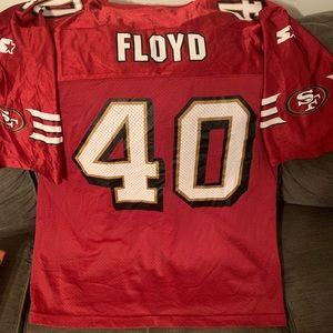 Vintage 49ers William Floyd Starter Jersey Sz L